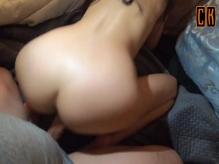 Creampie Anal - This AssFuck With No Lub Is Going To Be Painful But Wait For It - CK Road - Pov