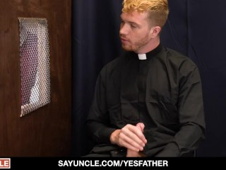 Religious Boy Getting Fucked After Confession