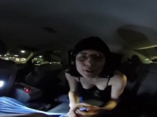360 VR Backseat Blowjob!