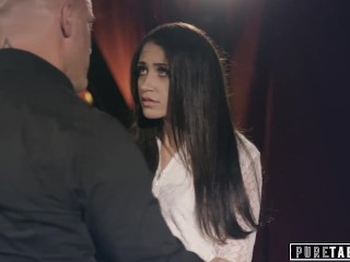 Avi Love Discovers BDSM in Rich Dude's House