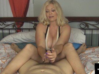Dick Milking House Wife Charlee Chase Sucks & Hand Fucks Your Dick With Joy