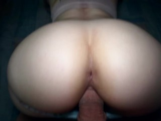 I fucked hard my neighbor and decided to record that on camera - BigBootyAssTeen