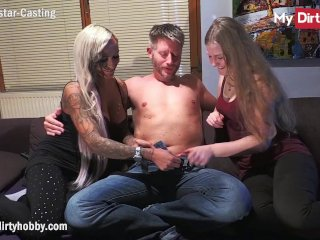 MyDirtyHobby- Stepmom shares her boyfriend with stepdaughter