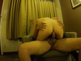 gf riding dick and doesn't stop
