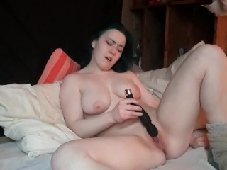 Teen touching herself - multiple orgasms