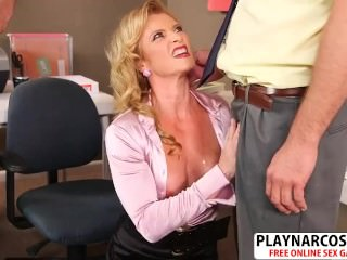 Chesty Mom Amanda Verhooks Seduces Hard Teen Dad's Friend