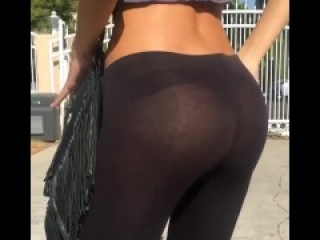 See Through Booty Pants